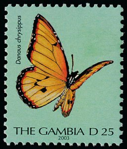 Gambia 2439 dated 2003 MNH Butterfly