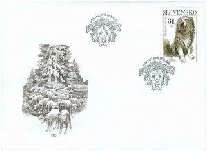 SLOVAKIA / 2007, (FDC) Preservation of Nature – Slovensky čuvač, MNH
