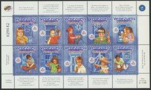 Venezuela 1998 MNH Miniature Sheet | Scott 1607 | Christmas