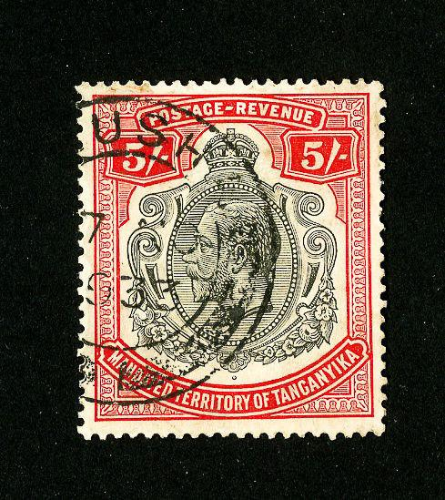 Tanganyika Stamps # 57 Superb Used