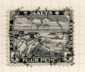 Malta 1915-16 Early Issue Fine Used 4d. 321535