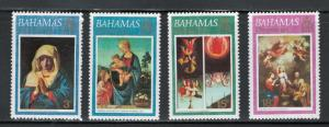 Bahamas 1973 Christmas Scott # 352 - 355 MNH