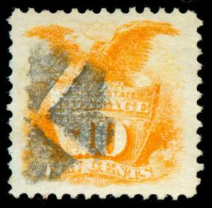 momen: US Stamps #116 Used PF Cert Beauty