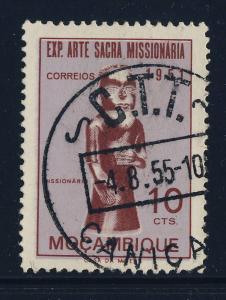 PORTUGAL / MOZAMBIQUE - Mi.414 cancelled 1955 C.T.T. / CANIÇADO CDS