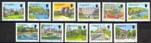 Jersey Sc# 494-504 MNH 1989-1995 Definitives