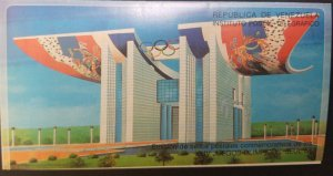 U) 1988, VENEZUELA, XXIV OLYMPIC GAMES SEOUL, POSTAL INSTITUTE, FDC