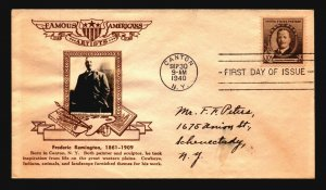 US SC# 888 FDC / Crosby Brown Artists Cachet - Z20624