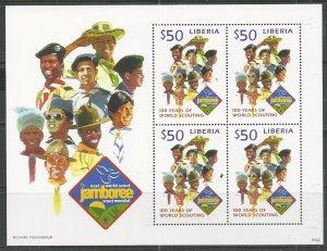 Liberia   Scott # 2463 - MH  (s/s)