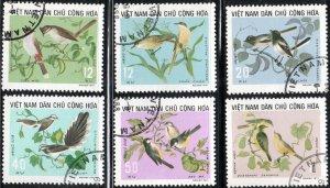 Vietnam 702-07 - Cto - Songbirds (Cpl) (1973) (cv $3.65)