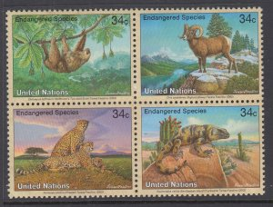 UN New York 821a Animals MNH VF