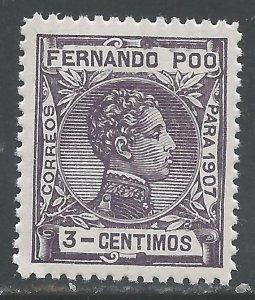 FERNANDO POO 154 MNH S191-4