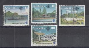 Seychelles Sc 759-762 MNH. 1993 Telecommunications, complete set, VF