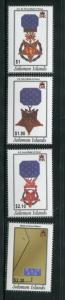Solomon Islands #958-61 MNH