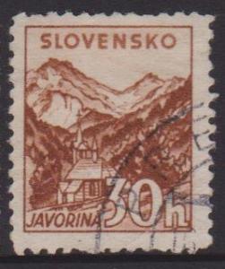 Slovakia Sc#49 Used
