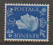 GB George VI  SG 466a Unmountd Mint wmk sideways