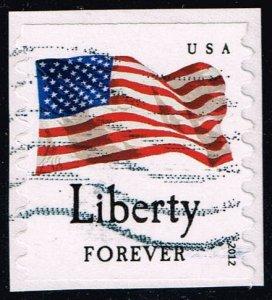 US #4632 Flag and Liberty; Used (0.25) (3Stars)