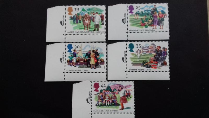 Great Britain 1994 Summertime Events  Mint