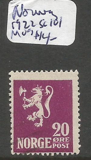 Norway 1922 SC 101 MOG (6cqg)