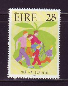 Ireland Sc 856 1992 Healthy Lifestyle stamp mint NH