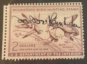 US Stamps #RW20 Used Federal Ducks #RW20A162