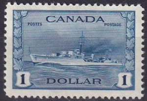 Canada #262 F-VF Unused  CV $55.00 (Z3846)