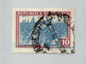 Argentina - Sc# 390 Used / 10peso  - Lot 0320040