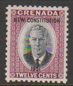 Grenada  George VI SG 190  Unmounted mint  - Constitution Opt