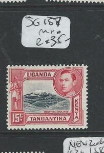 KENYA, UGANDA, TANGANYIKA  (P0108B) KGVI 15C  LATER PRINTING SG137a   MNH