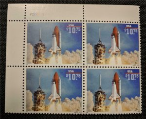 US Stamps #2544A Mint NH Plate Block of 4 Space Shuttle Endeavor