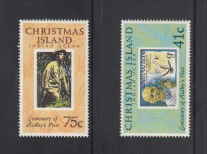 Christmas Island Scott #275-276 MNH
