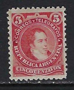 ARGENTINA 77 MOG Y091
