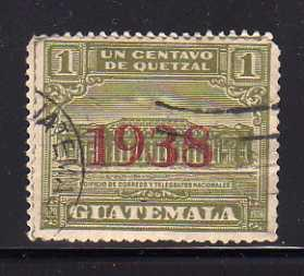 Guatemala RA9 U Post Office and Telegraph Building (A)