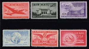 US STAMP AIR MAIL MNH STAMPS LOT