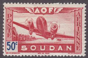 French Sudan C6 Air Post 1942
