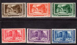 $Vatican Sc#55-60 M/NH, complete set, 10c+75c have creases, some toning Cv. $200