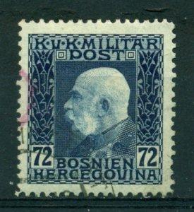 Bosnia & Herzegovina 1912 #80 U SCV(2020)=$5.25