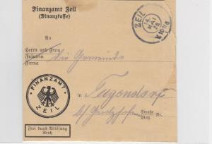 German Postal History Stamps Cover Ref: R4743