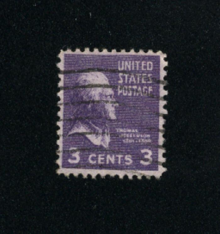 USA #807  5 used 1938 -1954 PD .08