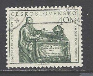 Czechoslovakia Sc # 792 used (DDT)