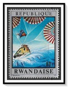 Rwanda #380 Conquest Of Space MNH