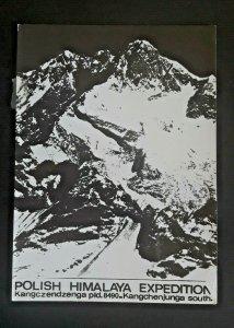 1978 Kanchenjunga Peak South & Middle Polish Himalaya Expedition RPPC