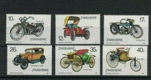 MBC4) Zimbabwe 1986 Centenary of Motoring MUH