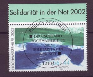 J20604 Jlstamps 2002 germany set of 1 special cancel mnh w/gum #b907 environment