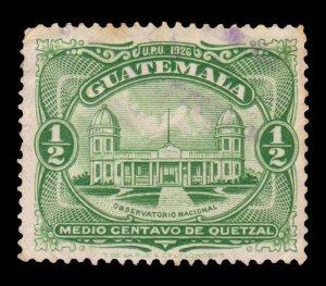 GUATEMALA STAMP 1929 SCOTT # 233. USED. # 4