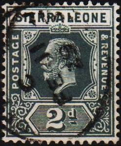 Sierra Leone. 1912 2d S.G.134 Fine Used