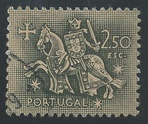 Portugal #771 2.50e Equestrian Seal of King Diniz