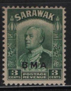 SARAWAK, 137, HINGED, 1945, Sir Charles Vyner Brooke