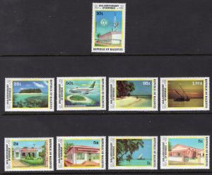 MALDIVE ISLANDS SCOTT 773-781