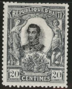 HAITI Scott 87 MH* stamp 1903