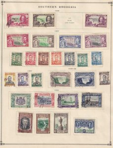 S COUNTRIES  OLD COLLECTION FROM INTERNATIONAL ALBUM PART 1 1840 - 1940  Z201